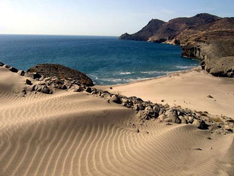 Cabo de Gata beach