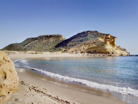 Beach at San Juan de los Terreros